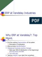 ERP at Vandelay Industries
