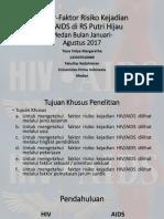 Faktor-Faktor Risiko Kejadian HIV.pptx