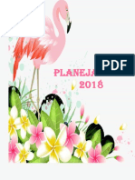 Planner 2019 Flamingo