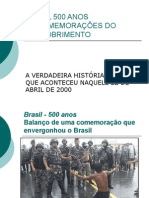 História Geral PPT - BRASIL 500 ANOS