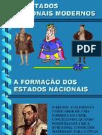 História Geral PPT - Formação Estados Nacionais