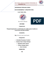 UNIVERSIDAD PERUANA UNION IRRIGACIONES.docx