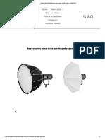 Rgb-150s Gvm Fresnel Spot Light -Rgb Color – Gvmled