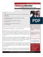 The Jamestown Foundation Terrorism Monitor Volume VII Issue 34