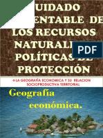 CUIDADO SUSTENTABLE  DE LOS RECURSOS  NATURALES