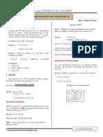 Teoría y Problemas de Teoría de Conjuntos II  Ccesa007