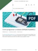 Como Programar o Módulo ESP8266 NodeMCU - FilipeFlop