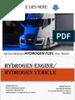 Hydrogen Enginedev