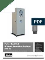 Parker Dual-Bed Nitrogen Generator System BD5-20