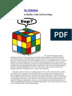Rubik Cube Solution