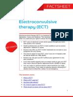 Electroconvulsive Therapy Factsheet