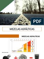 MEZCLAS ASFÁLTICAS