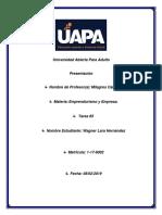 Tarea #5 Empredurismo y Empresa.docx
