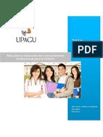 Plan para la obtención del Licenciamiento Institucional - UPAGU - V1.docx