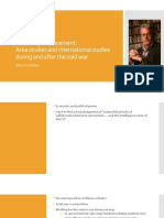 Boundary Displacement_ Area Studies and International Studies During and After the Cold War