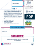weekly newsletter april 1st ppdd