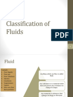 Classification of Fluid