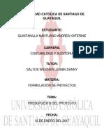 PRESUPUESTO DEL PROYECTO.docx
