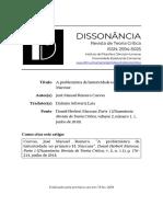 Romero, JM (2019) A problemática da historicidade no primeiro Marcuse.pdf