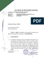 Reposición 20 días - Caso Félix Moreno