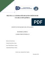 Reporte de práctica 2.1 Generación de datos cinéticos de una reacción química..docx