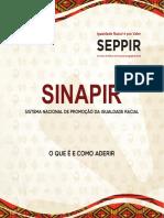 Cartilha SINAPIR - Sistema Nacional de Promoção da Igualdade Racial - O que é e como aderir.pdf