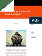 O Legado de Gurdjieff