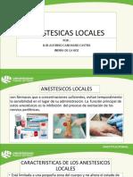 Anestesia Locales