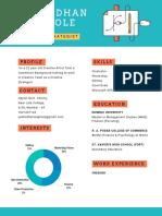 A Creative Resume
