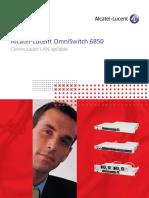 Brochure OmniSwitch 6850