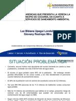 Presentación Proyecto de Grado_ SANEAMIENTO LA VETA