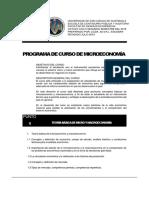 Programa Microeconomia