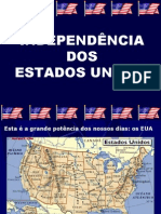 História Geral PPT - Independência Estados Unidos
