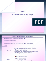 Clase 8-1 Trata de SO2 y H2S