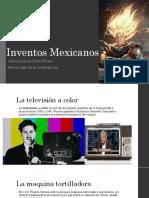 Inventos Mexicanos