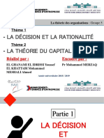 Décision Rationalité Capital Social