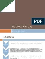Nulidad Virtual