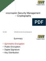 UTC Cryptography