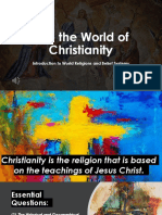 Into the World of Christianity