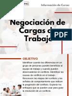 Curso Negociación de Cargas de Trabajo