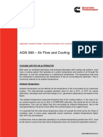 air flow and cooling
