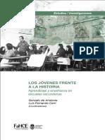 Autores Varios. Los jovenes frente a la Historia. Aprendizaje y enseñanza en las aulas secundarias..pdf