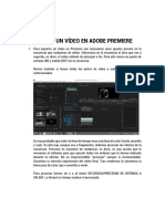 Exportar Un Video en Adobe Premiere