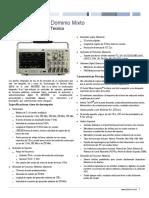 Tektronix MDO3000 Serie Sheet Anexar