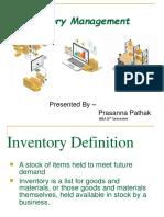 Inventory Management Presentation