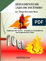 Treinamento de Brigada de Incêndio