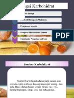 fungsi, sumber, dan peranan Karbohidrat.pptx