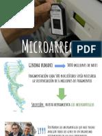 Exposición Microarreglos