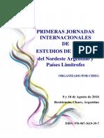 Actas - I Jornadas Internacionales de Estudios de Género del Nordeste Argentino y Países Limítrofes.pdf