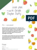 5e lesson plan fourth grade